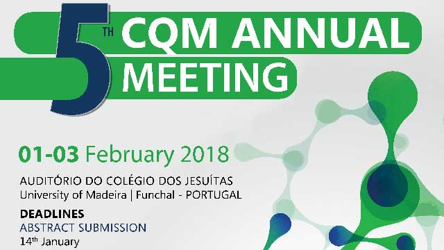 5th CQM Annual Meeting event poster header.