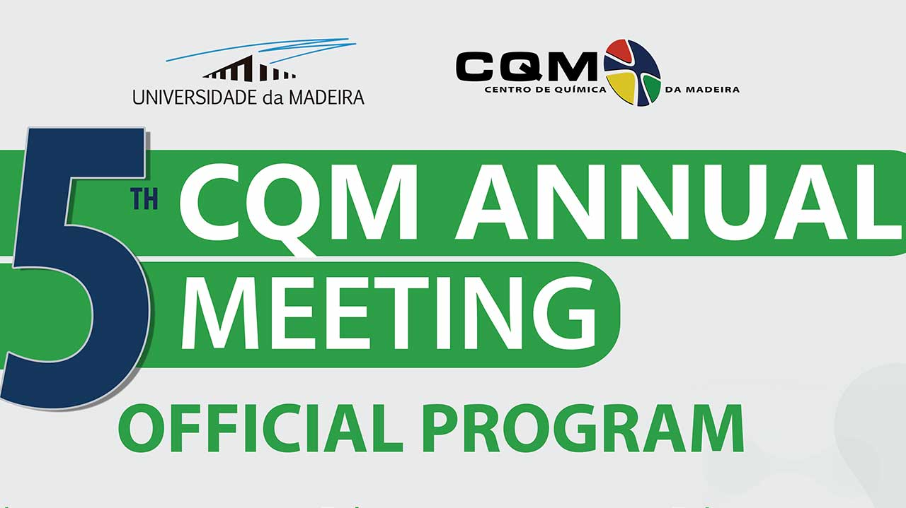 CQM's 5th Annual Meeting program poster header.
