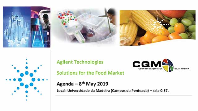 Angilent Technologies Solitions for the Food Market.