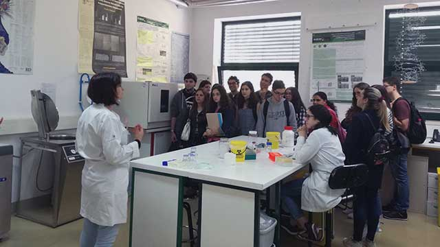 1st year students of the BSc in Biochemistry visit CQM.