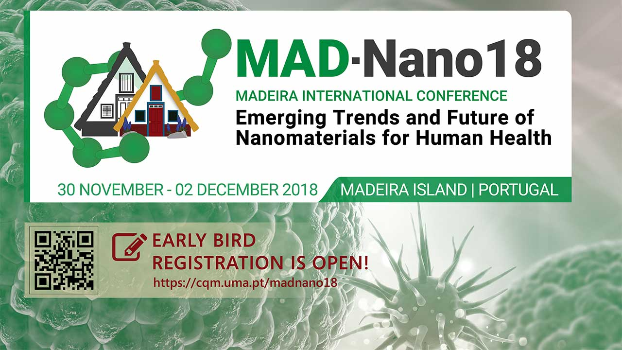 MAD-NANO 18 event poster header.