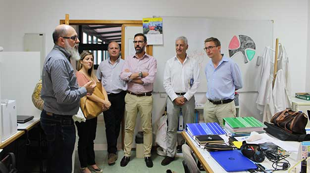 Joint Research Centre (JRC) visits CQM