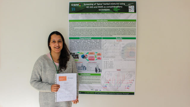 Researcher from CQM wins prize