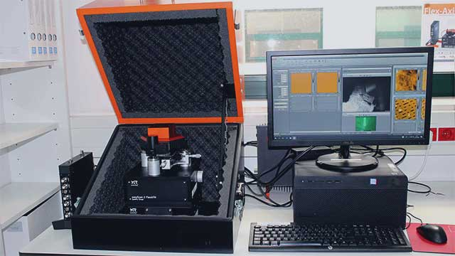 CQM's Atomic Force Microscope.