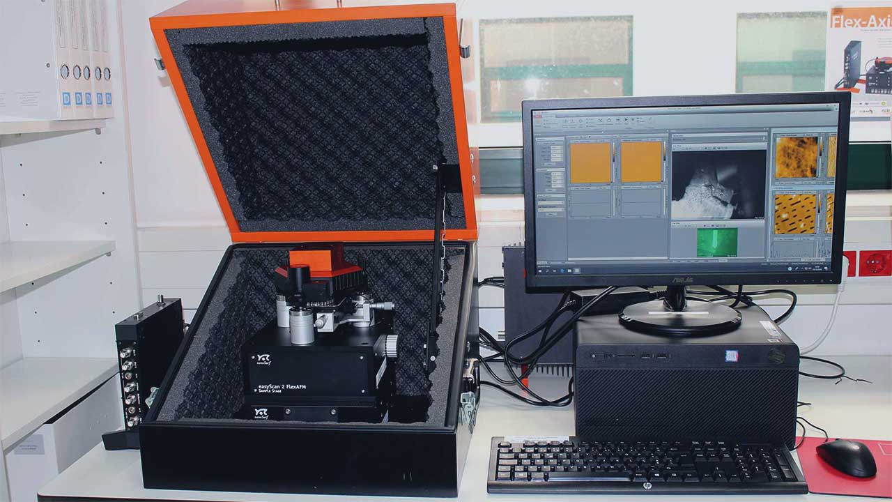 CQM's Atomic Force Microscope