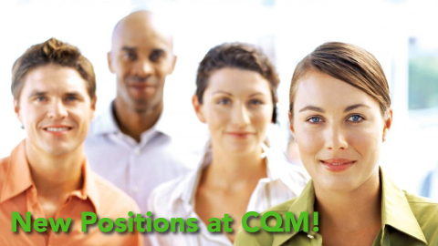 CQM is hiring banner.