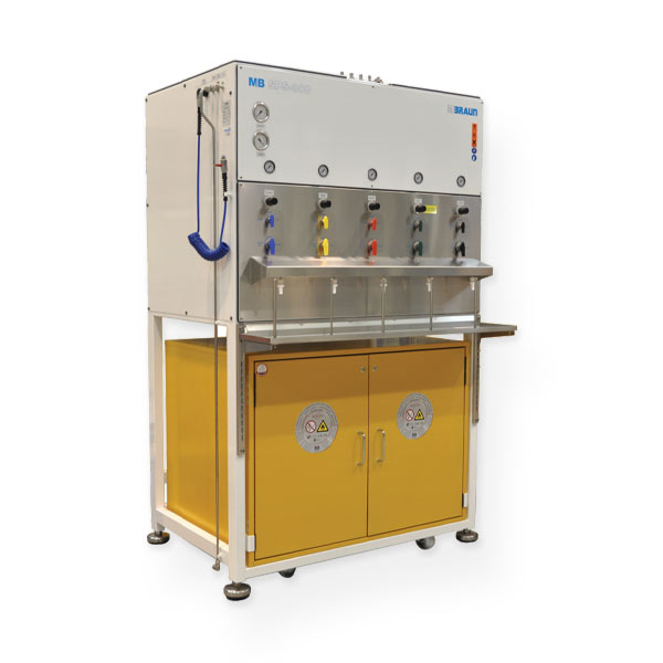 MB-SPS-800 MBRAUN Solvent purification system